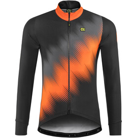 Alé Cycling Solid Pulse - Maillot manches longues Homme - orange/noir